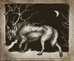 Barghest by ObloquyCondemed