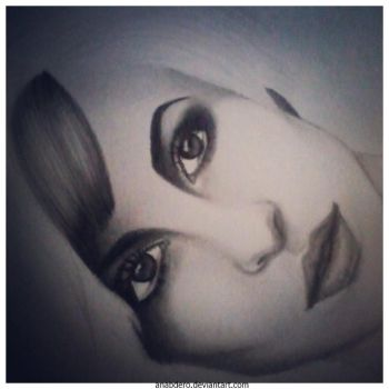 Hayley Williams WIP by anabdero