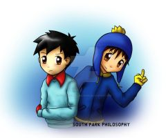 South park Kevin and Craig by SouthParkPhilosopher
