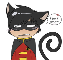 Kitty Tim is not amused by The-Chibster