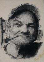 a real life popeye by ricardo-bruins