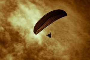 Paragliding by MebDuinn