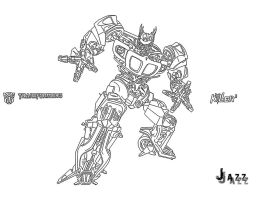 Transformers - - JaZz by indu111