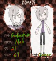 Conner Finch ::Zombie Application:: by Rice-B-Autum