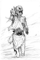 Zombie -sketch- by AndreaTM