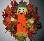 Scarecrow Wreath by koepr5333