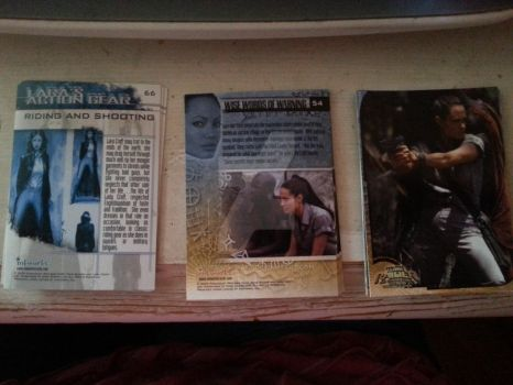 My NEW TR2 movie cards :D by UrsulaCroft
