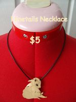 Ninetails Necklace by CynicalSniper