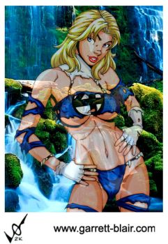 Savage Land Sue Storm v2 by Mythical-Mommy