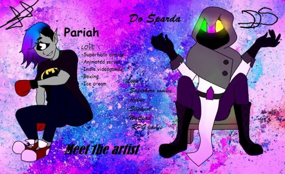 Meet the artists- Pariah and Do Sparda (2017) by Risky4Art