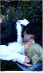 Drrr: Kiss at Ikebukuro's park by Smexy-Boy