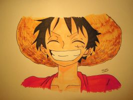 Smile .:Luffy:. by Smile-smiley