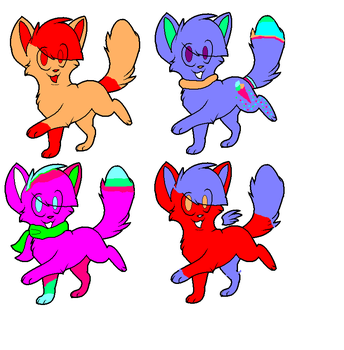cat adoptes 1 point by carlie1299