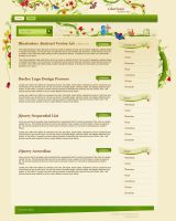 Shopping Flower template by mediarays