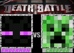 DEATH BATTLE MINECRAFT: Enderman vs Creeper by EnderMan-Answers