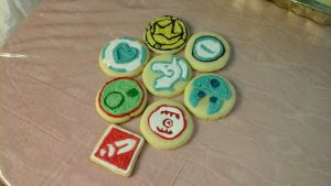Spiral Knights Cookies by FightingPolygon
