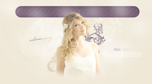 Taylor Swift Header by bernadett98