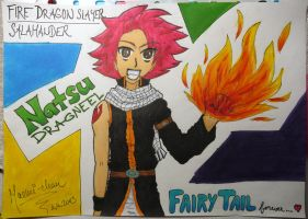 Natsu Dragneel by anipo1