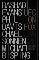 UFC on Fox 2 Poster by weoweoweo