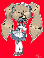 Zombie maid gf by Ful-Fisk