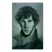 Benedict Cumberbatch as Sherlock by SalReaper666