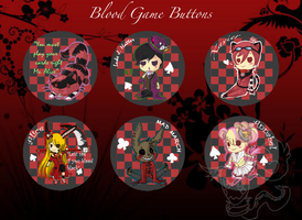 Blood Game Buttons by MoonshadowWolf
