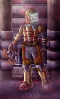 Dead Space: Issac Clarke by zeiram0034