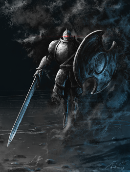 The Pursuer from Dark Souls II by MikeJordana