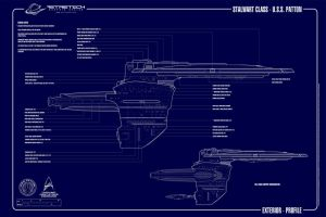 USS Patton V2 Profile by astristech