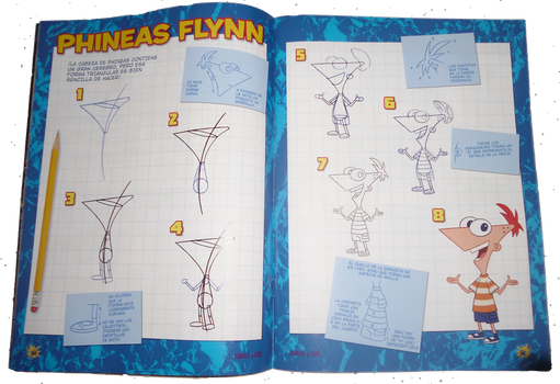 Tutorial de Phineas by LalaSweet98