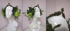 Spring Forest Headress by Lillyxandra
