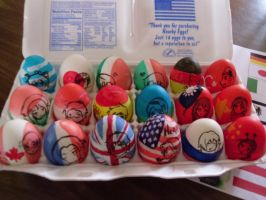Easter Eggs Hetalia Style 2011 by Keylik