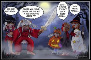 Trick or OWWWW by synaid