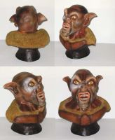 Lord of the Rings Ork Imp Bust by RaptorArts