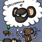 Spidermouse by Choquickpie