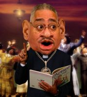 Reverend Jeremiah Wright by RodneyPike