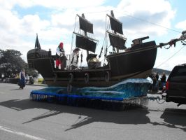 Stock: Pirate Ship by Stock-By-Michelle