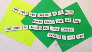 The Daily Magnet #158 by FridgePoetProject