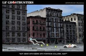 Lil' Ghostbusters by DrOfDemonology