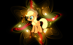 [Wallpaper] Applejack [MLP] by RicePoison