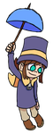 Hat Kid Drawing by TheMediocre