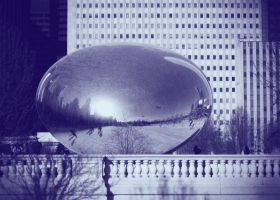 Cloudgate by sicklittlemonkey