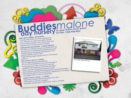 Buddies Malone Day Nursery Web by SJROBZY