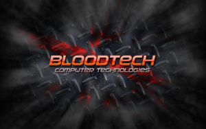 Bloodtech Brand Wallpaper by BloodTheChosen