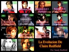 My new Evolution About Claire Redfield by SandraRedfield