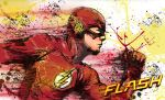 The Flash Painting by Graymalkin2112