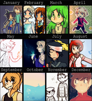 Neon's Summary of Art 2014 by Neon-Frost