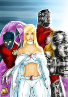 X-Men Colorjob 1st Version by BouncieD