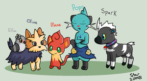 My current team by Kiichiii