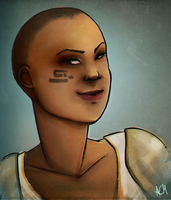 Commission: Signe Brosca Portrait by FlockofFlamingos
